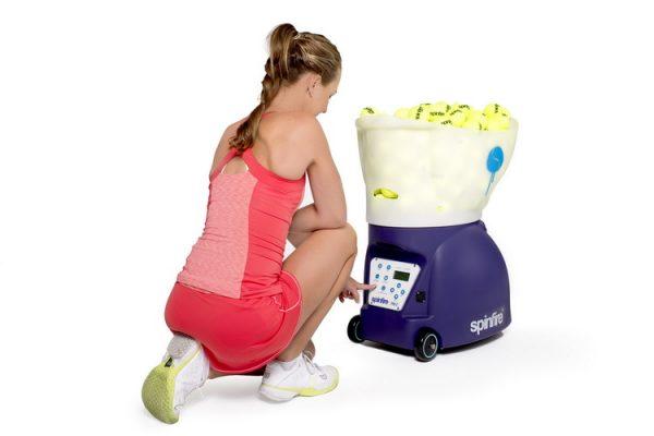 Choosing Spinfire Pro 2 Tennis Ball Machine Settings